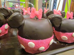 Minnie Mouse Apple