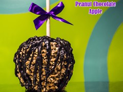 Peanut w/ Chocolate Apple