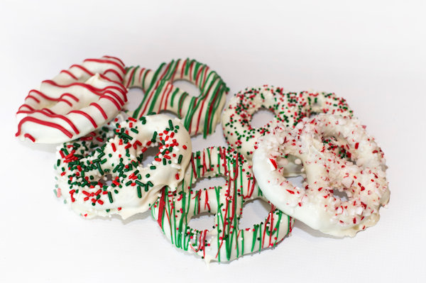 White Chocolate Holiday Twists