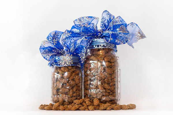 Cinnamon Roasted Nuts Available in Almond, Walnut or Pecan