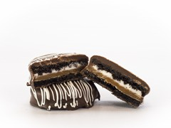 Caramel Filled Chocolate Oreo